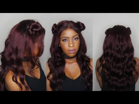 DYING MY HAIR BURGUNDY WITHOUT BLEACH|LOREAL EXCELLENCE HICOLOR