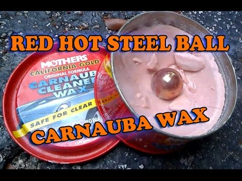 RED HOT STEEL BALL - CARNAUBA WAX!