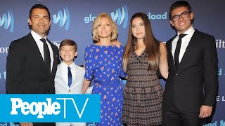 Kelly Ripa, Mark Consuelos & Family Have Been Sheltering In Place In Caribbean | PeopleTV
