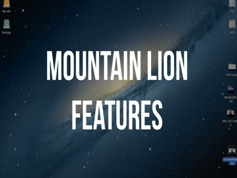 Hands On: Mac OS X Mountain Lion