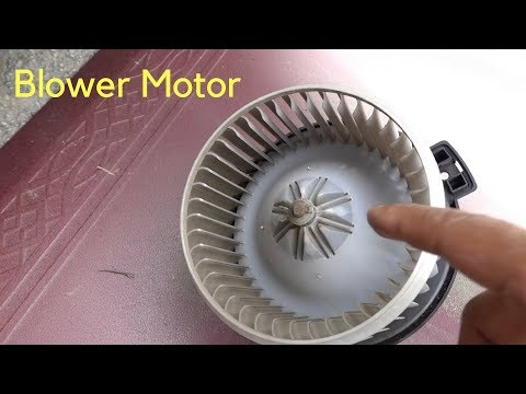 How To Replace A/C Heater Blower Motor  98-02 Honda Accord