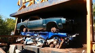 car crusher crushing cars 19