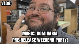 VLOG: NERD PARTY!!! MAGIC THE GATHERING DOMINARIA PRE-RELEASE PARTY!