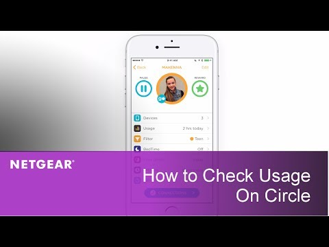 How to Check Usage on Circle | NETGEAR