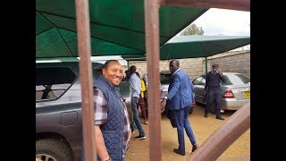 After search, EACC officials pick Governor Waititu