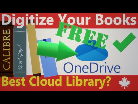 7 OneDrive for your Calibre library