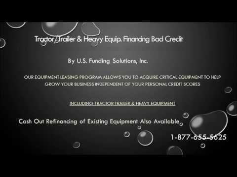 Tractor Trailer Financing Bad Credit