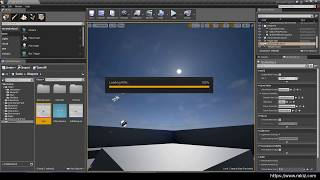 UE4 #5 Add rifle and create aim offset from AimSpace