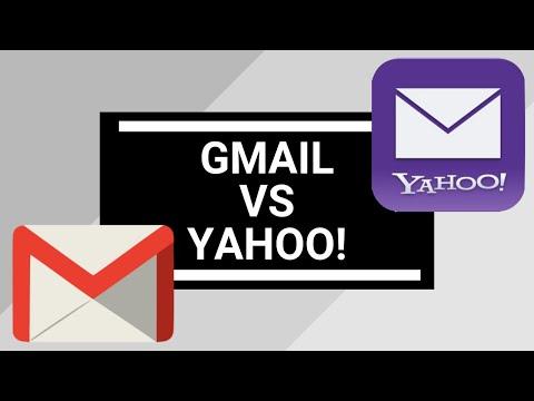 Yahoo! Mail vs Gmail 2018