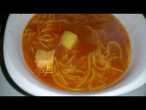 Everyday Latin Inspired Homemade Noodle Chicken Soup -How To