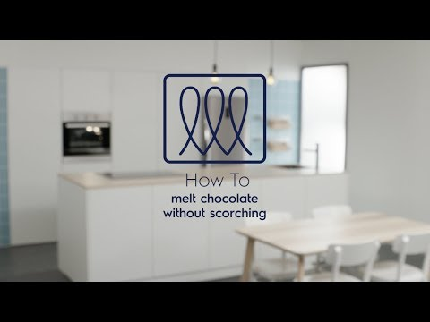 How to Melt Chocolates with Induction Cooker - Electrolux SG
