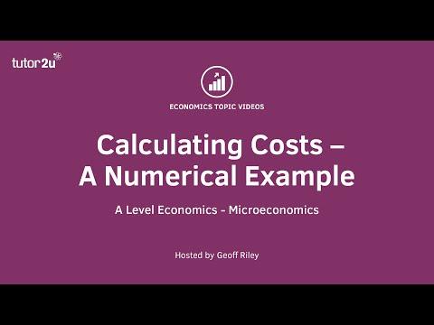 Calculating Short Run Costs