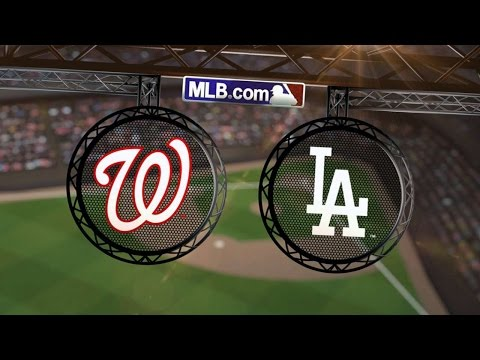 9/3/14: Nats outlast Dodgers in marathon matinee game