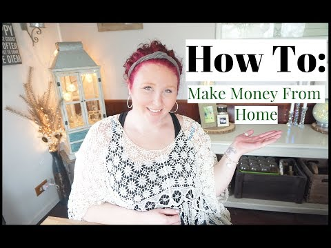 5 Simple Ways to Make Money from HOME!