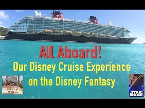 Disney Fantasy Cruise Family Vacation - Introduction
