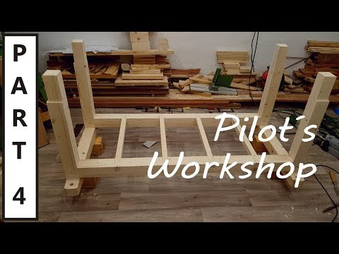 How to build the Ultimate Workbench - part 4 - Building the leg assembly