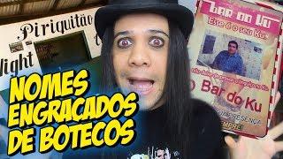 NOMES ENGRAÇADOS DE BARES E BOTECOS