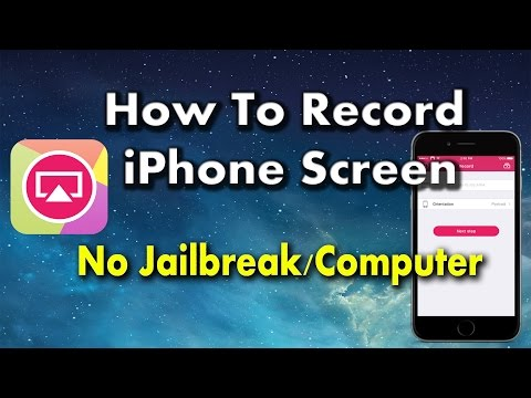 How to Record Screen on iPhone Without Jaibreak #Airshou