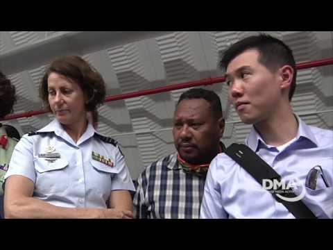 Australian Defense College Visits Guam