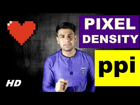What is Pixel Density and Pixel Per Inch (PPI) ? (In Hindi)