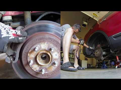 2011 Ford Explorer FWD Rear Brake Job