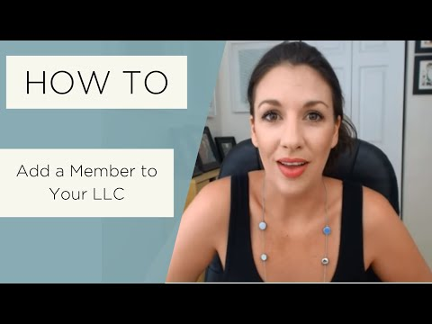 How to Add a Member to an LLC - All Up In Yo' Business