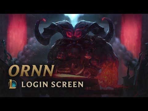 Ornn, the Fire below the Mountain | Login Screen - League of Legends