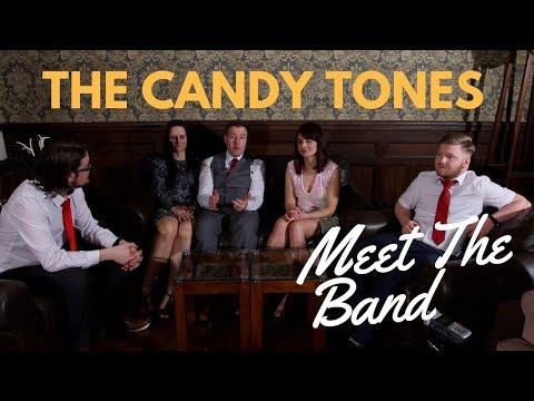 The Candy Tones // Meet The Band // Book at Warble Entertainment