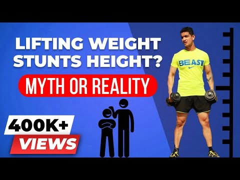 Can Weight Lifting STUNT your HEIGHT? | Does weight training stop your growth? | BeerBiceps