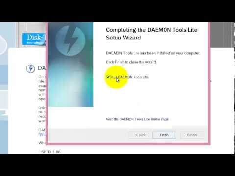 ISO Creation & Use with Daemon Tools Lite