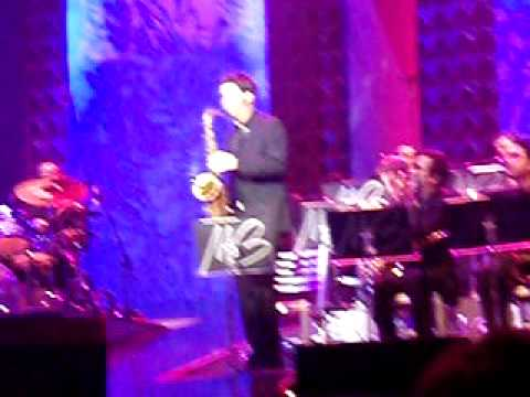 Buble' Live in hershey Park, PA
