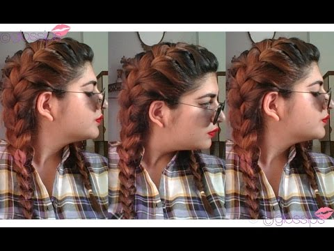 How to- Basic Braiding - French Braiding - Two French Braid Hairstyle.
