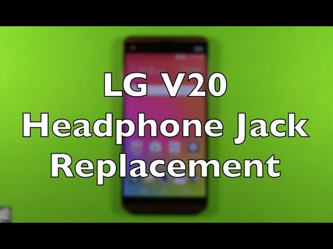 LG V20 Headphone Jack Replacement Repair How To Change