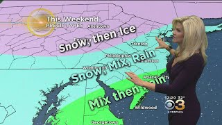 Download MIdday Weather Forecast: Who Sees The Most Snow Video
