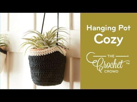 How to Crochet Hanging Pot Cozy