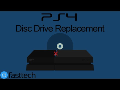 PS4 (CUH-1215/1200) Disc Drive Replacement