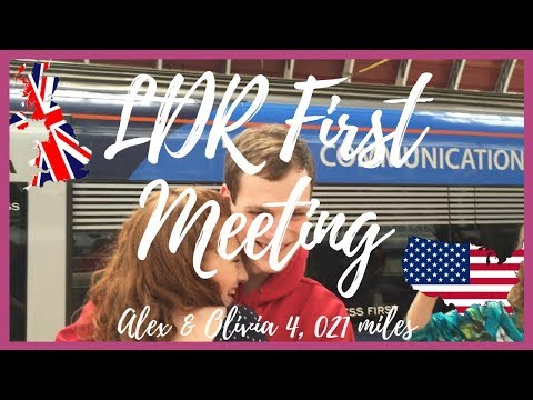 LDR Meeting For The First Time - USA to UK, 4,021 miles