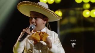 Jossue deja sin palabras a Natalia Jiménez   Audiciones   La Voz Kids 2016