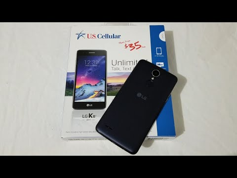 LG K8 (2017) Unboxing & Thoughts (U.S Cellular)