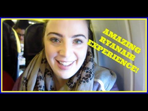 AMAZING RYANAIR EXPERIENCE!! Rome Vlog Day 1