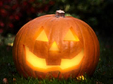 Halloween Jack-o-Lantern in Photoshop! |