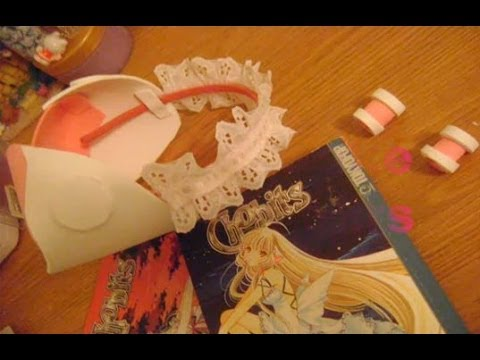 [DIY cosplay] How to Make Chobits Ears