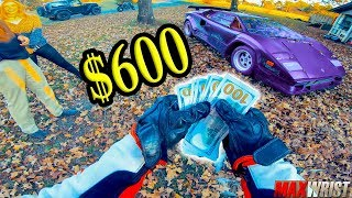 MAXY SELLS LAMBORGHINI COUNTACH FOR $600!