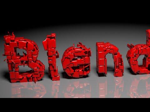 Blender Tutorial: Text Transformation Animation