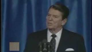 """President Ronald Reagan - """"Evil Empire"""" Speech"""