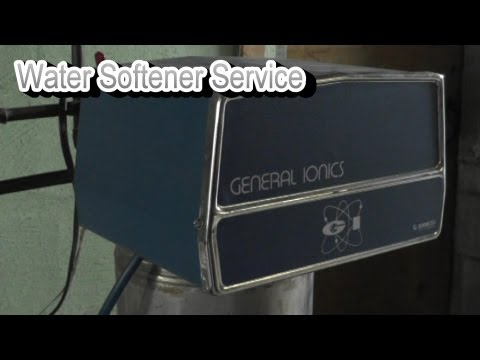 DIY Water Softener Service - Replace Resin - Clean Injector Screen - Set Program Wheel