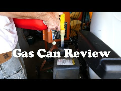 Gas Can Review