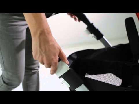 Adjustable handlebar and footbrake | Bugaboo Donkey Mono