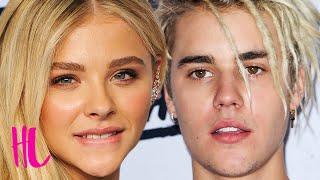 Chloe Moretz Disses Justin Bieber Bae Status? - Awkward VIDEO