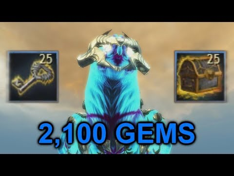 Opening 25 Black Lion Chest Keys (Mysterious Etchings Chest) | Guild Wars 2